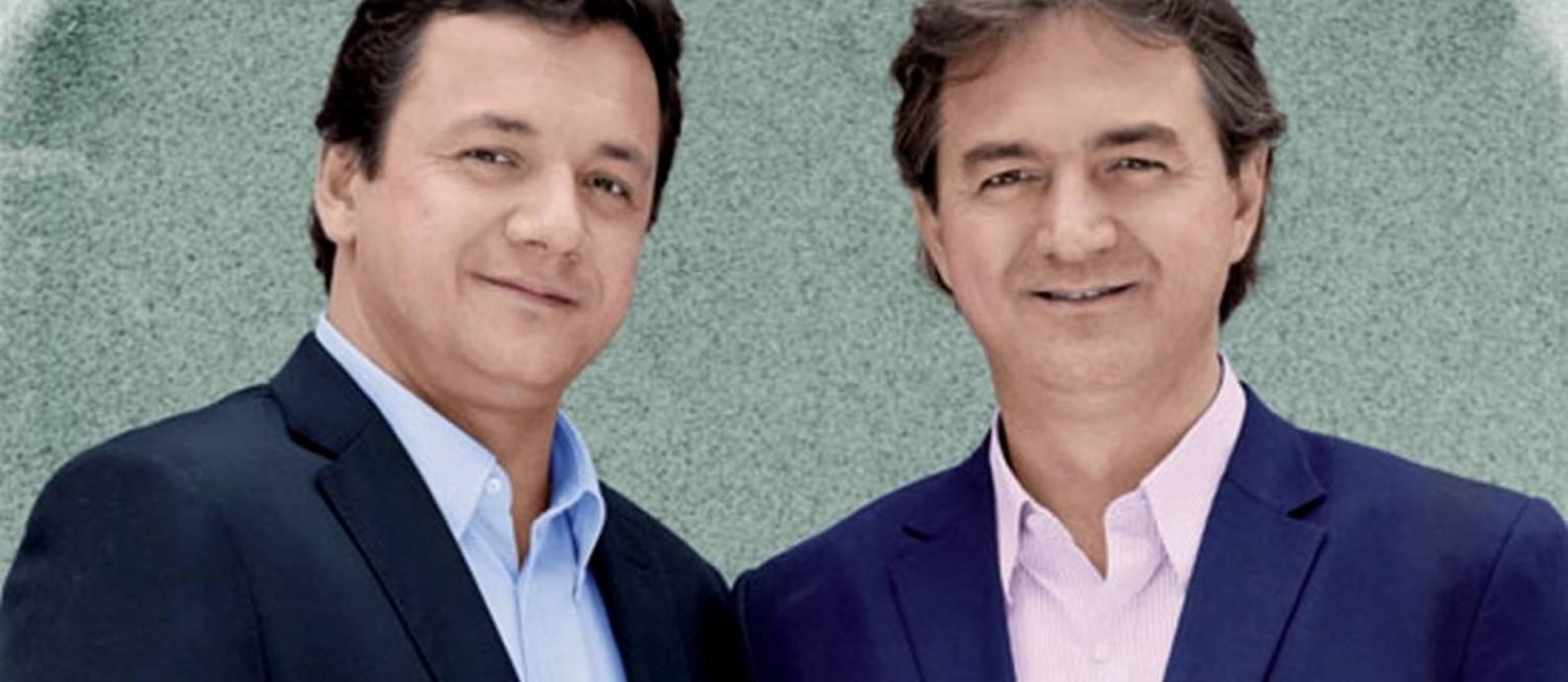 Wesley e Joesley Batista, donos do Grupo J&F, maior grupo privado não-financeiro do Brasil Foto: Reprodução