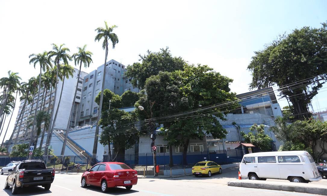 Hospital Central da Polícia Militar, no Estácio Foto: Roberto Moreyra
