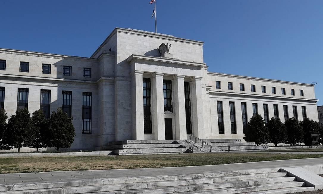 Sede do Federal Reserve: produção industrial dos EUA em queda. Foto: Leah Millis / REUTERS
