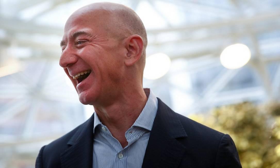 Jeff Bezos, fundador e CEO da Amazon Foto: Lindsey Wasson / Reuters
