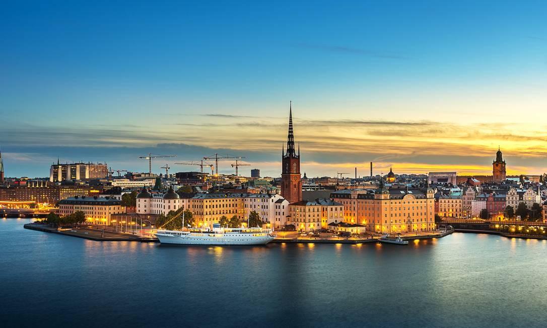 A Escandinávia, região da Europa que abrange Dinamarca, a Suécia e a Noruega, tem carga tributária bem mais alta que no Brasil, mas todos têm a garantia do mínimo, com imensa qualidade Foto: Getty Images