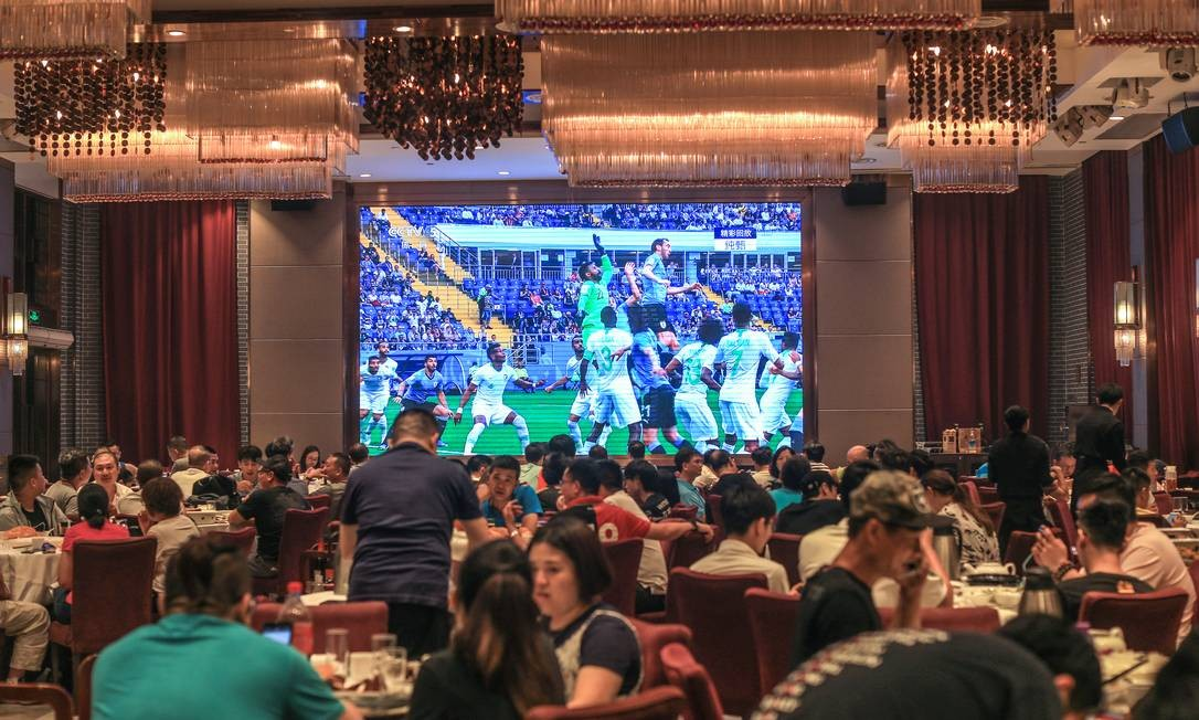 Restaurante em Guangzhou, na China Foto: VCG / Getty Images