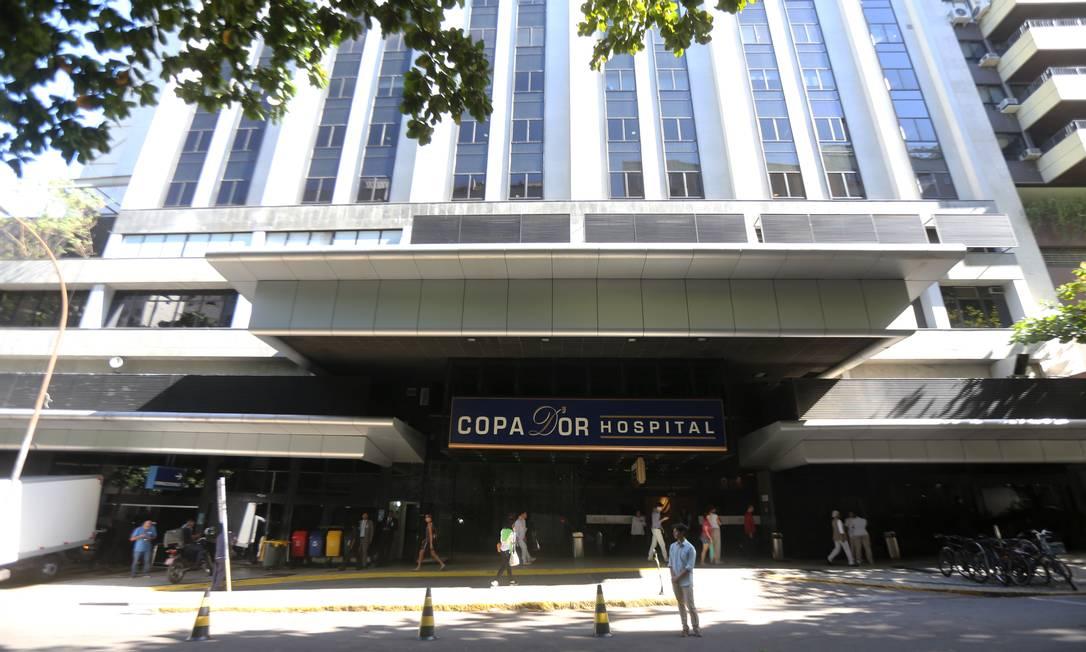 Emergência do Copa D'Or atendia 300 pessoas por dia e hoje atende apenas 120 Foto: Guilherme Pinto / Agência O Globo