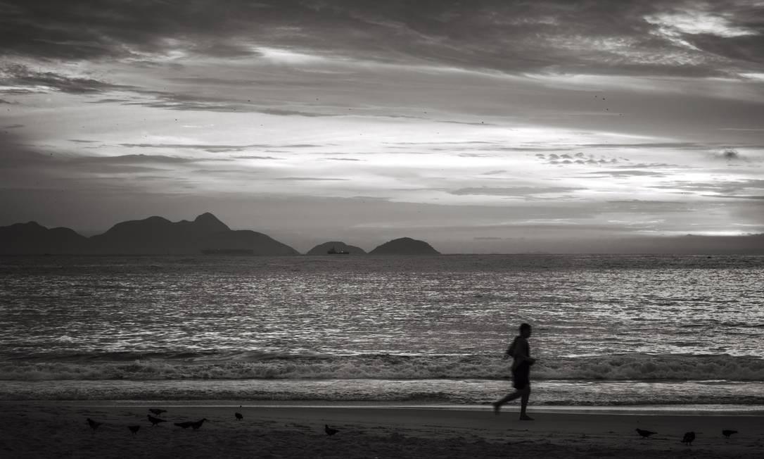 Praia de Copacabana Foto: Leo Martins / Agência O Globo