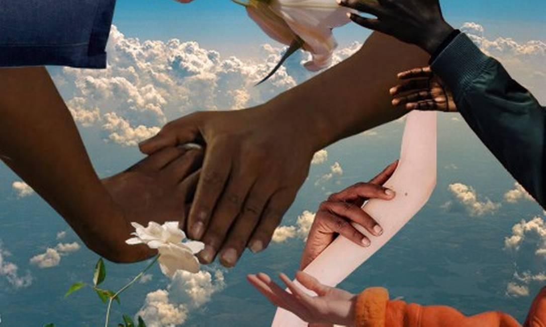 Montagem da artista Aina Giro Foto: Reprodução