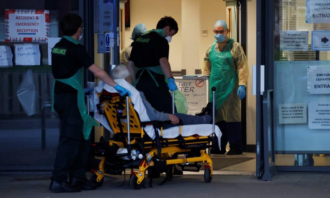 Hospital privado inglês é usado pela rede pública Foto: PHIL NOBLE/REUTERS / PHIL NOBLE/REUTERS