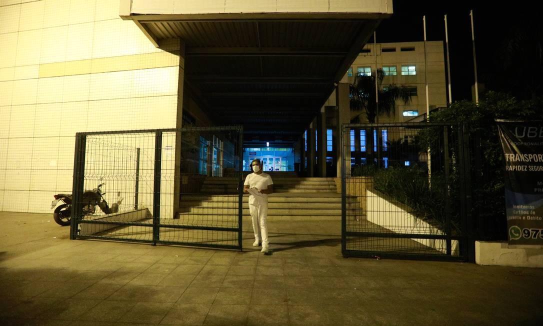 O Hospital Municipal Ronaldo Gazolla, em Acari, referência para atendimento contra a Covid-19. Foto: Brenno Carvalho / Agência O Globo