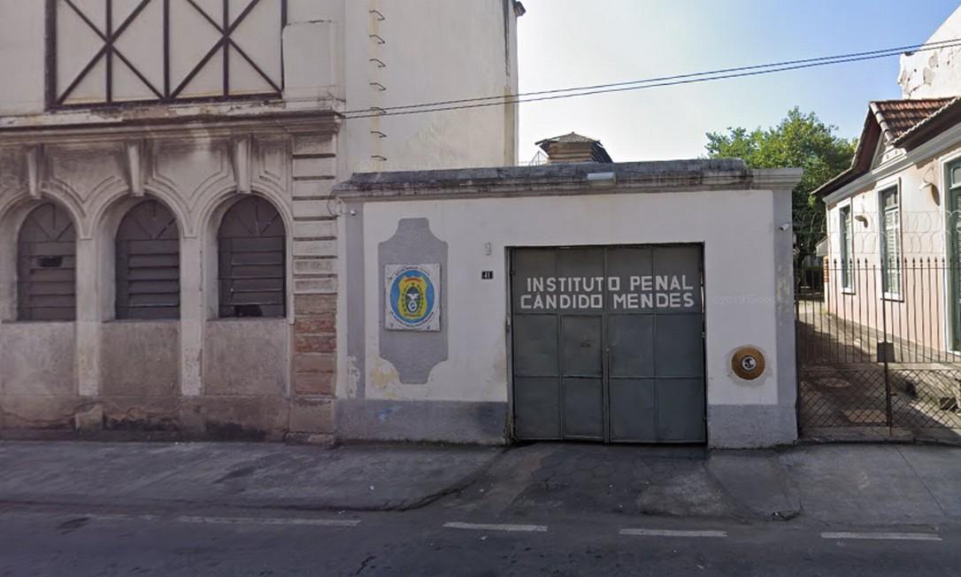 O Instituto Penal Cândido Mendes, que fica no Centro do Rio Foto: Google Street View / Reprodução