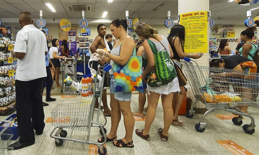 Supermercados denunciaram ao governo federal prática de preços abusivos por fornecedores Foto: Leo Martins/02-04-2020