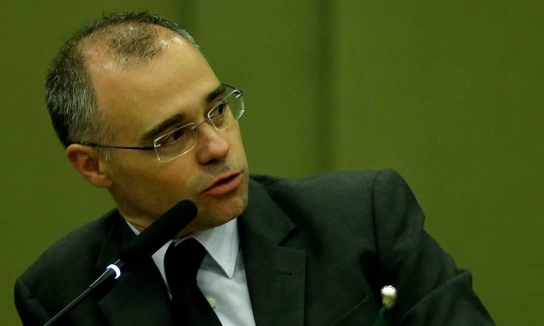 O advogado-geral da União, ministro André Luiz de Almeida Mendonça Foto: Jorge William / Agência O Globo