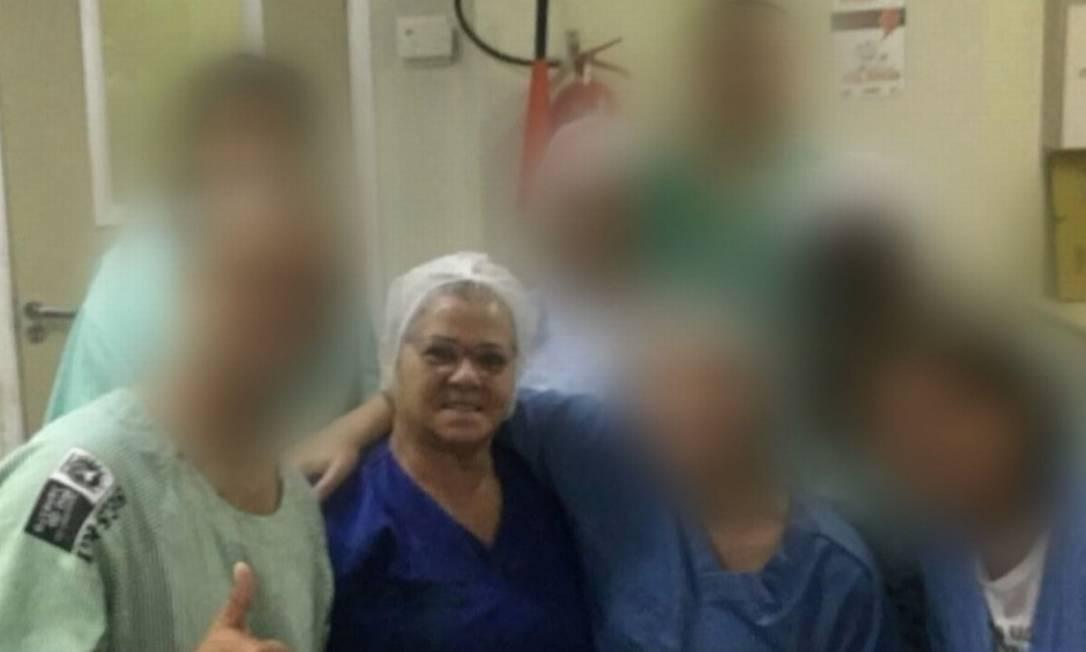 A técnica de enfermagem Anita de Souza Viana Foto: Reprodução TV Globo