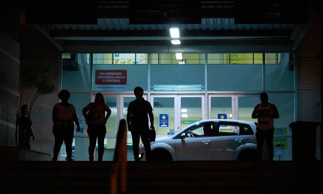 Hospital Municipal Ronaldo Gazolla é referência no tratamento do coronavírus Foto: Brenno Carvalho/Agência O Globo