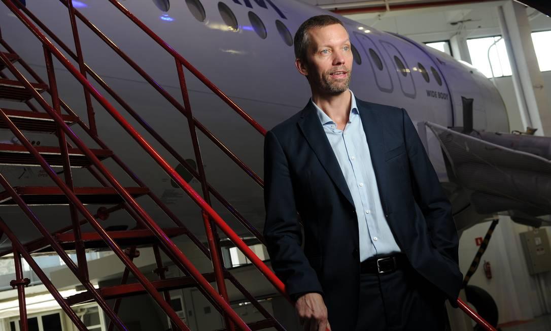 O presidente da Latam, Jerome Cadier, diz que algumas companhias aéreas podem desaparecer após pandemia Foto: Silvia Costanti / Valor/29/11/2018