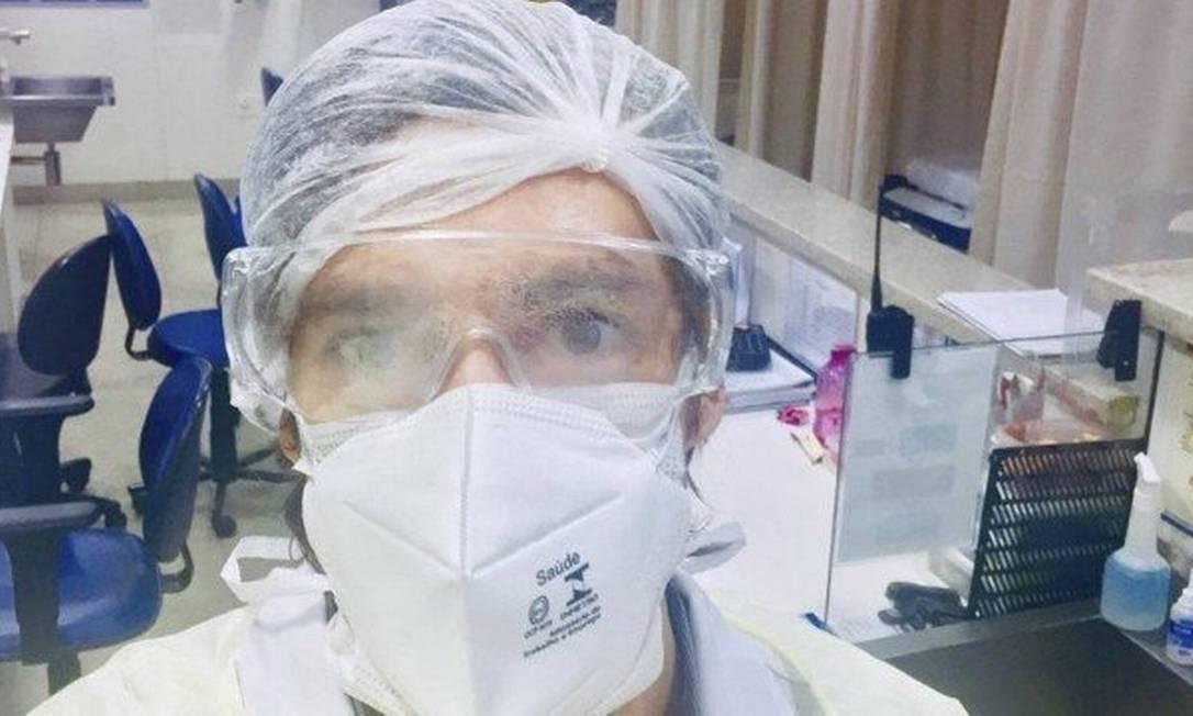 """Cirurgião-geral Pedro Archer: """"Nunca imaginei isso"""" Foto: Reprodução"""