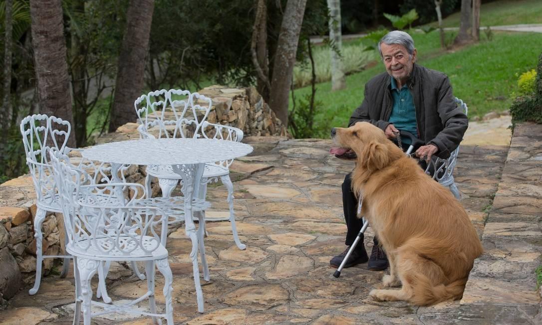 O aposentado Paulo Henrique Pereira, 81 anos, em uma casa de repouso em São Paulo Foto: Divulgação