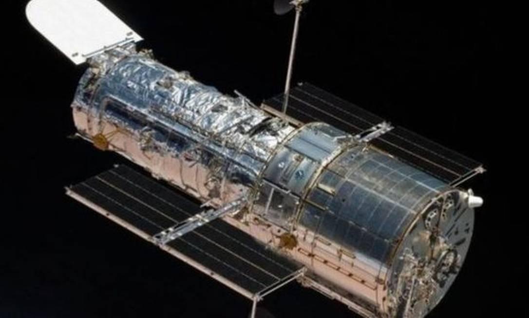 A outra equipe de cientistas estudou as ondas ultravioletas do cometa com o telescópio espacial Hubble Foto: NASA