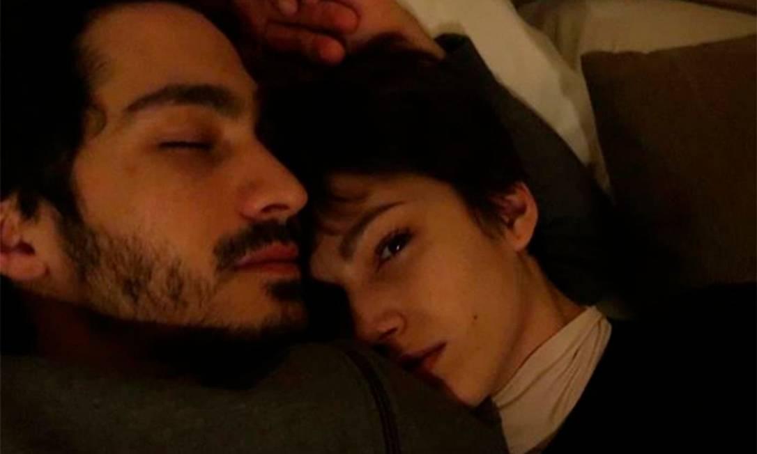 Chino Darín com a namorada, Úrsula Corberó Foto: Reprodução do Instagram