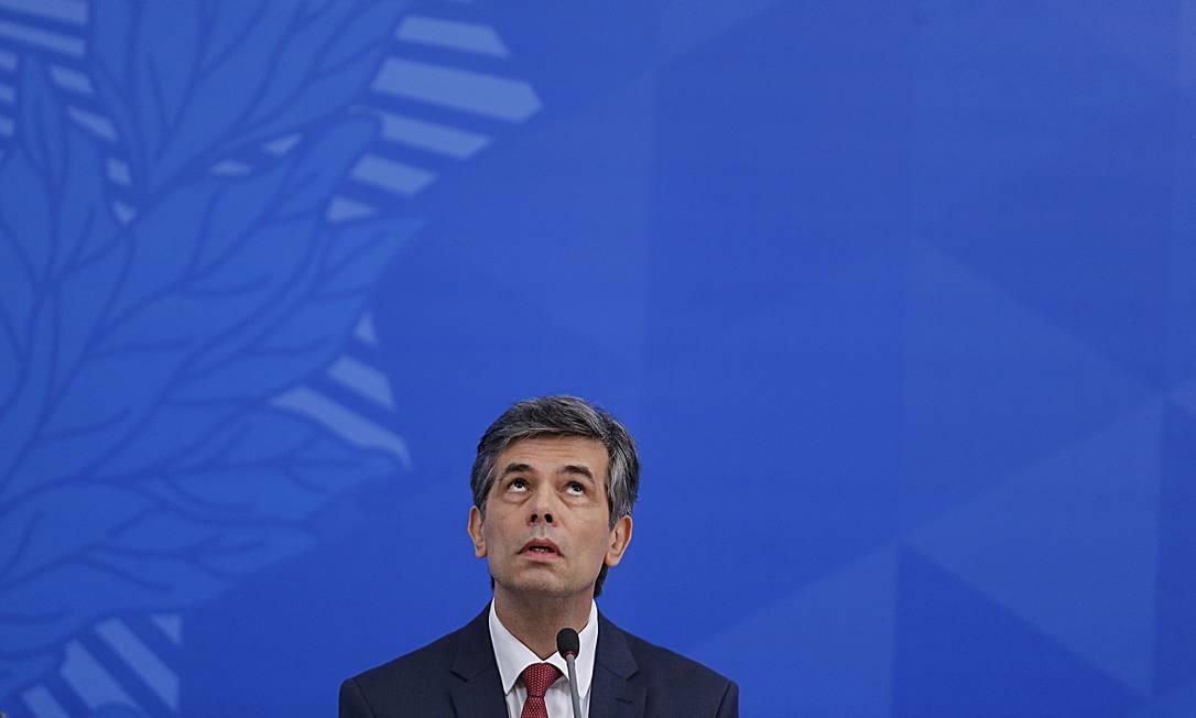 O ministro da Saúde, Nelson Teich Foto: Jorge William / Agência O Globo