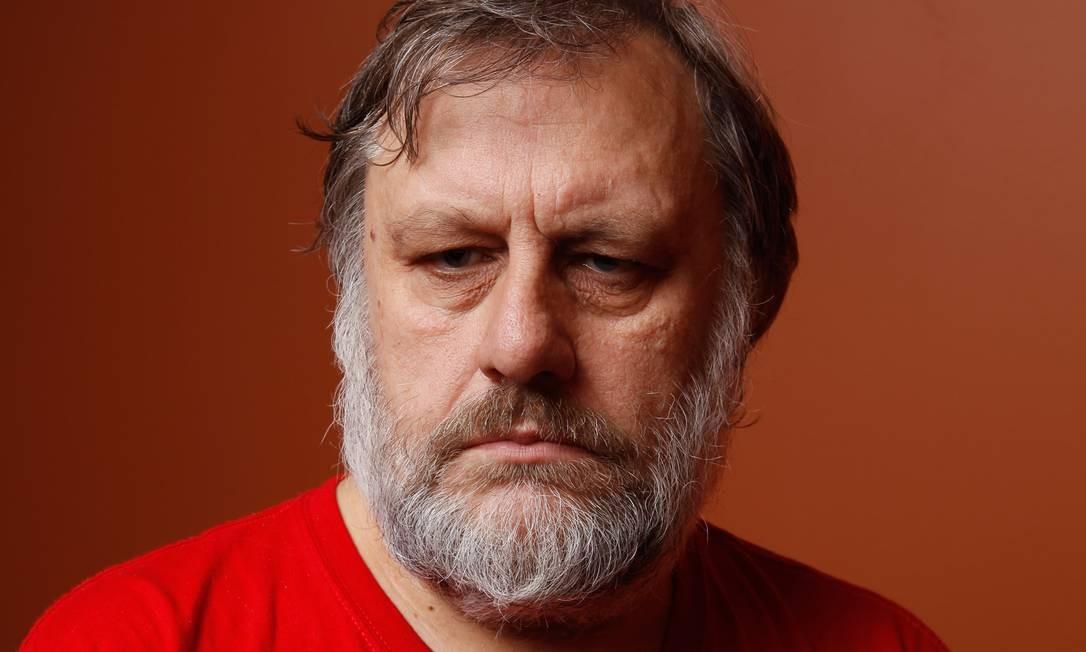 Slavoj Zizek é considerado um dos neomarxistas mais proeminentes da atualidade Foto: Matt Carr