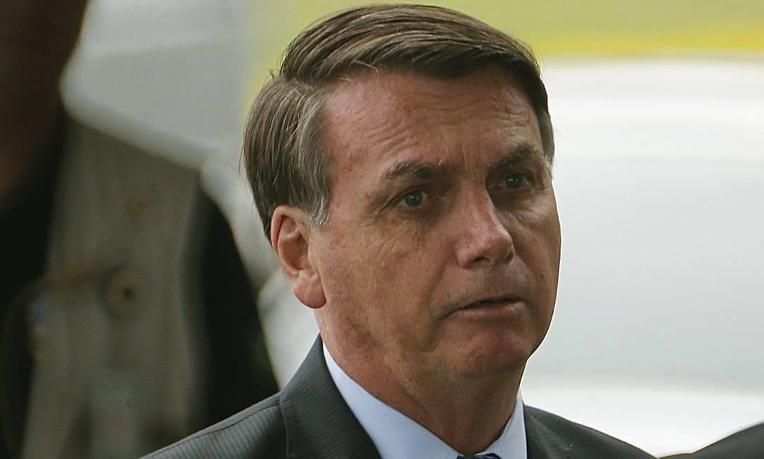 O presidente Jair Bolsonaro disse que não tem como fazer milagre Foto: Jorge William