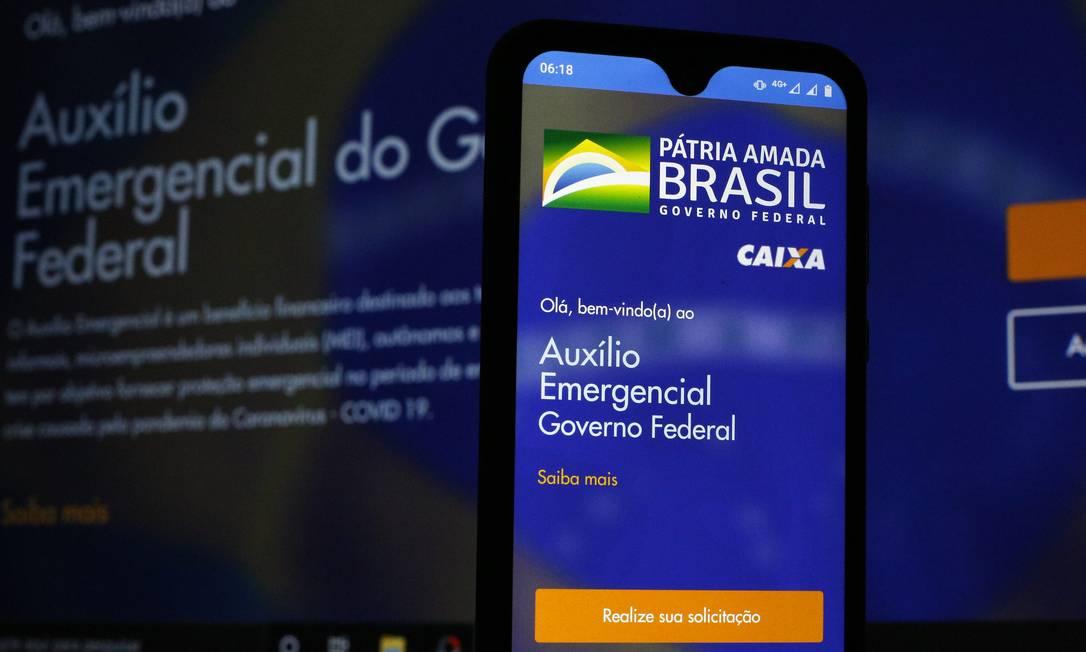 Cerca de 46 milhões de trabalhadores informais fizeram cadastros para receber o auxílio emergencial do governo Foto: Lucas Tavares/Zimel Press