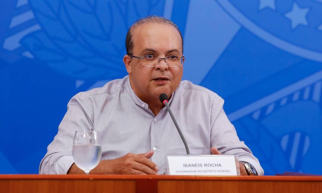O governador do Distrito Federal, Ibaneis Rocha Foto: Anderson Riedel / Presidência da República