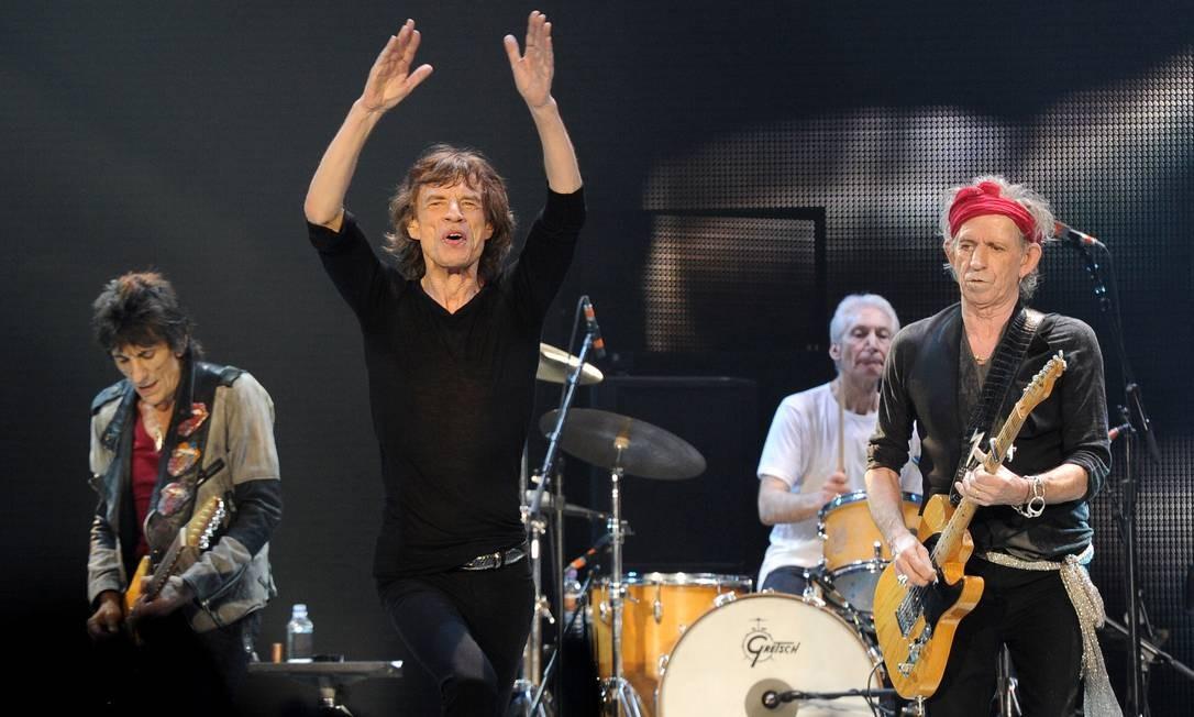 O grupo inglês The Rolling Stones Foto: Brian Rasic / Divulgação