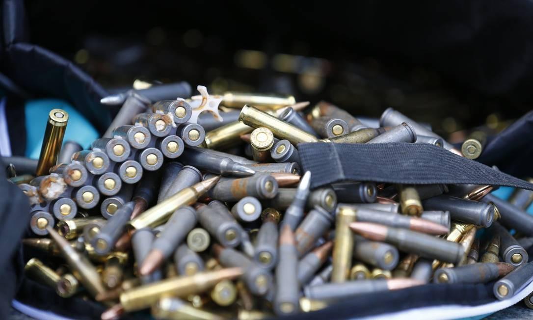 Exército prepara novas portarias sobre rastreamento de armas e munições após bronca de Bolsonaro Foto: Pablo Jacob / Agência O Globo