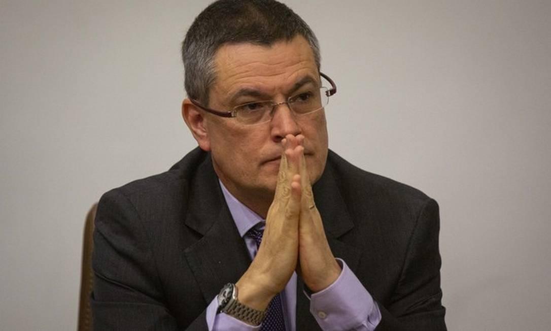 O ex-diretor-geral da Polícia Federal, Maurício Valeixo 27/08/2019 Foto: Daniel Marenco/ Agência O GLOBO