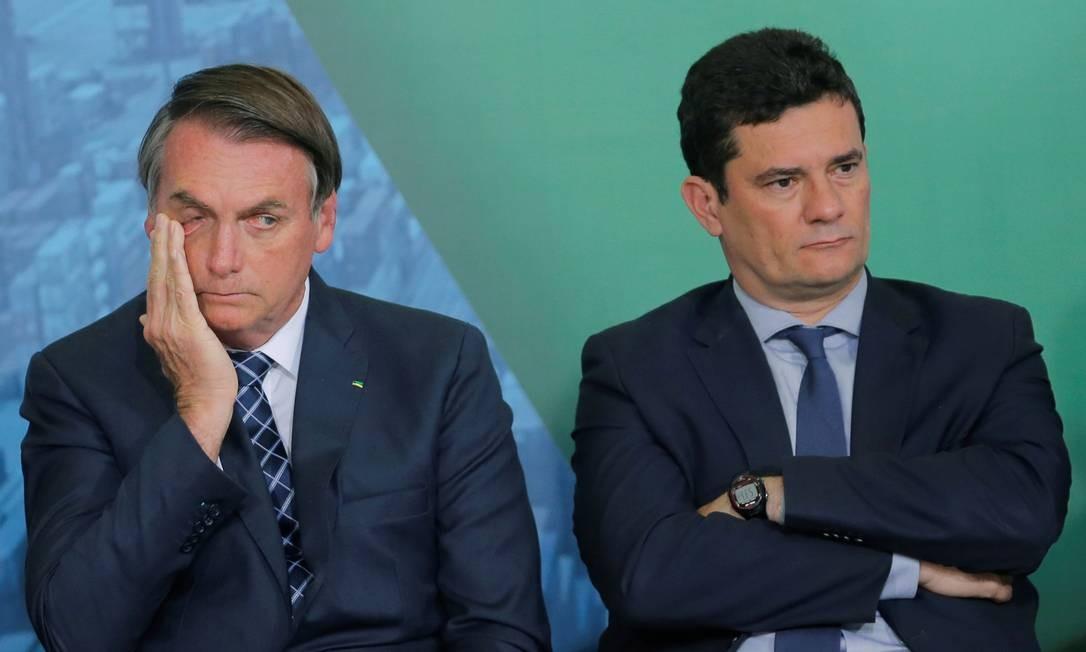Sergio Moro pediu demissão na última sexta-feira, após a exoneração do diretor-geral da PF, Maurício Valeixo Foto: Adriano Machado / Reuters