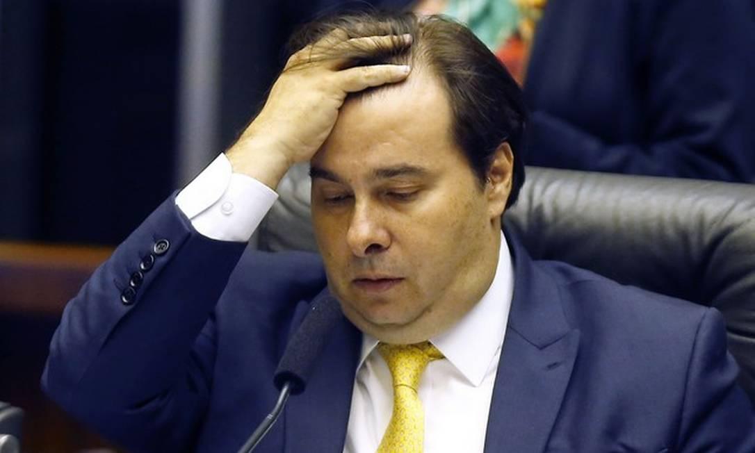 Rodrigo Maia Foto: Jorge William/Agência O Globo