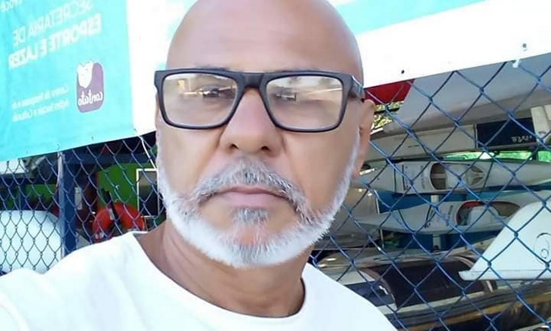 Jorge Machado era morador da Rocinha e morreu com sintomas de coronavírus Foto: Facebook / Reprodução