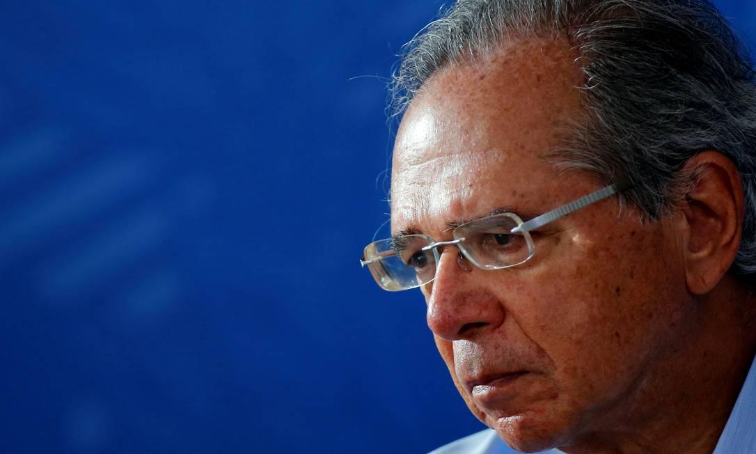 Paulo Guedes, ministro da Economia Foto: Adriano Machado / Reuters