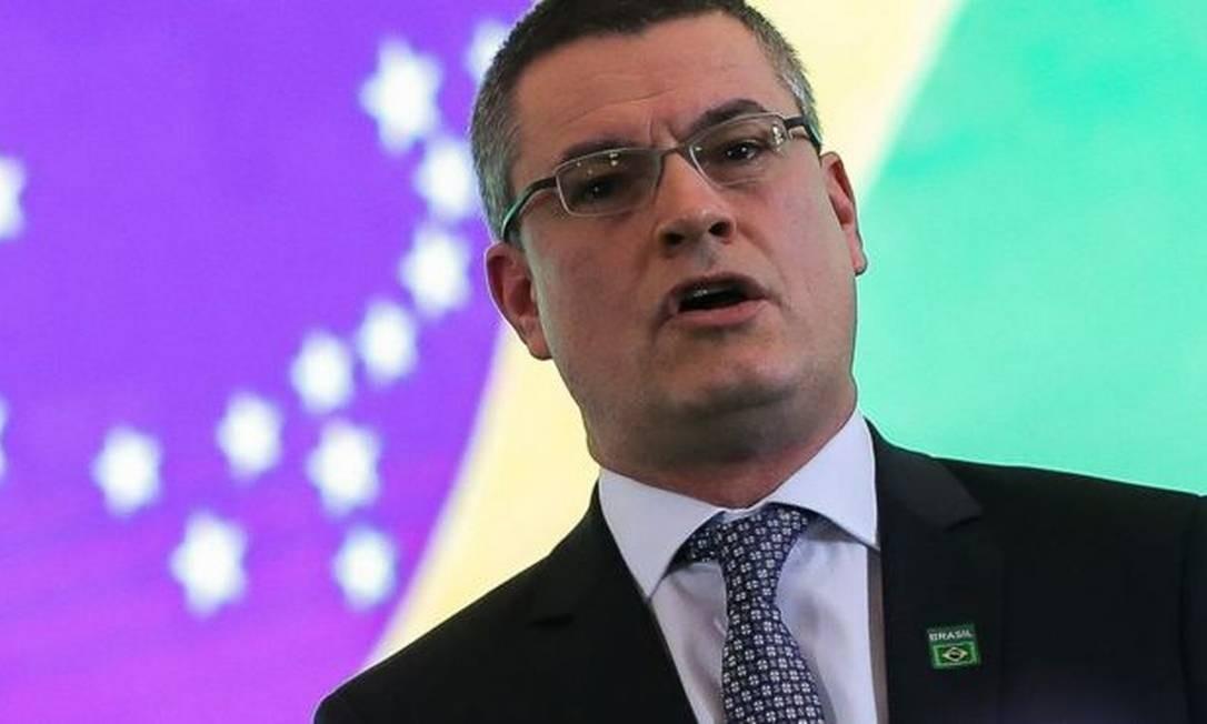 Delegado de carreira, Valeixo era diretor da PF desde novembro de 2018 Foto: JOSÉ CRUZ/AGÊNCIA BRASIL