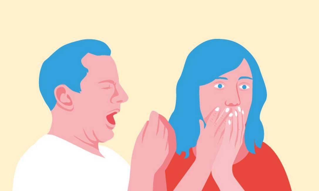 Por que é tão difícil não tocar o rosto Foto: Arte O Globo