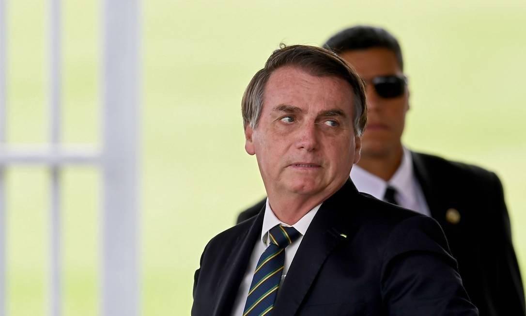 O presidente Jair Bolsonaro Foto: EVARISTO SÁ/AFP