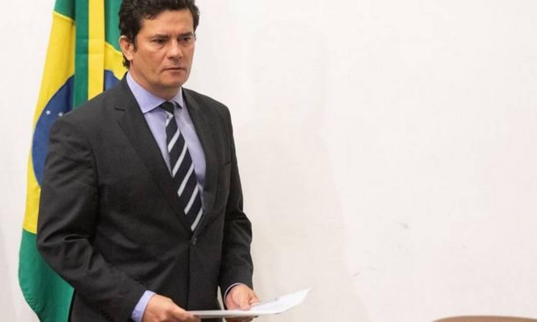 Demissão de Sergio Moro (foto) é 'extremamente preocupante', avalia Drago Kos, chefe do grupo de trabalho anticorrupção da OCDE Foto: EPA/JOEDSON ALVES