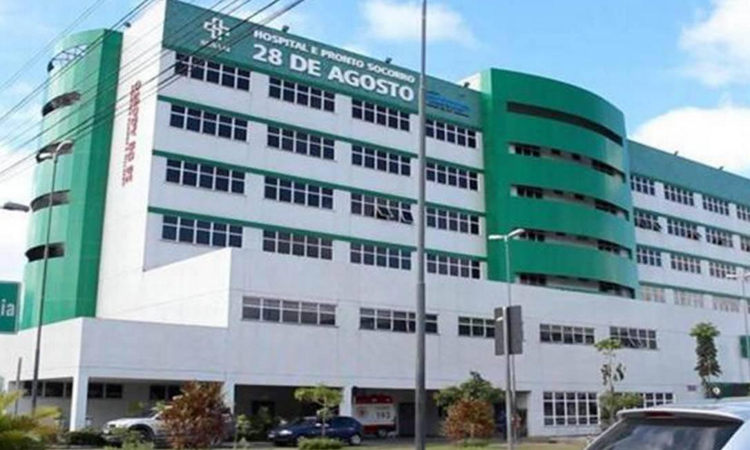 Hospital e Pronto Socorro 28 de Agosto, o maior do Amazonas Foto: Divulgação