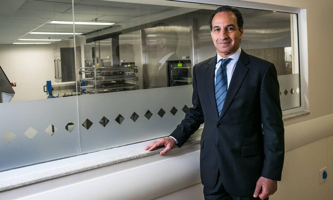 O médico cirurgião Paulo Chapchap, diretor-geral do Hospital Sírio-Libanês de São Paulo Foto: Bruno Santos/Folhapress