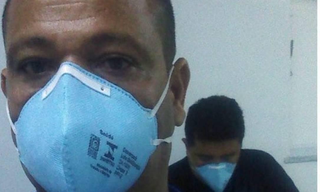 Diabético, Rosinaldo diz que não tem medo de ir trabalhar Foto: Reprodução