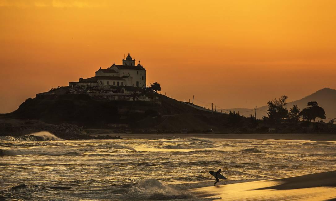 Saquarema não receberá o mundial de surfe neste ano Foto: Guito Moreto / Agência O Globo