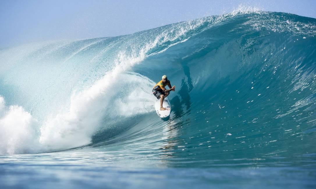 Italo Ferreira é o atual campeão mundial de surfe Foto: Kelly Cestari/WSL