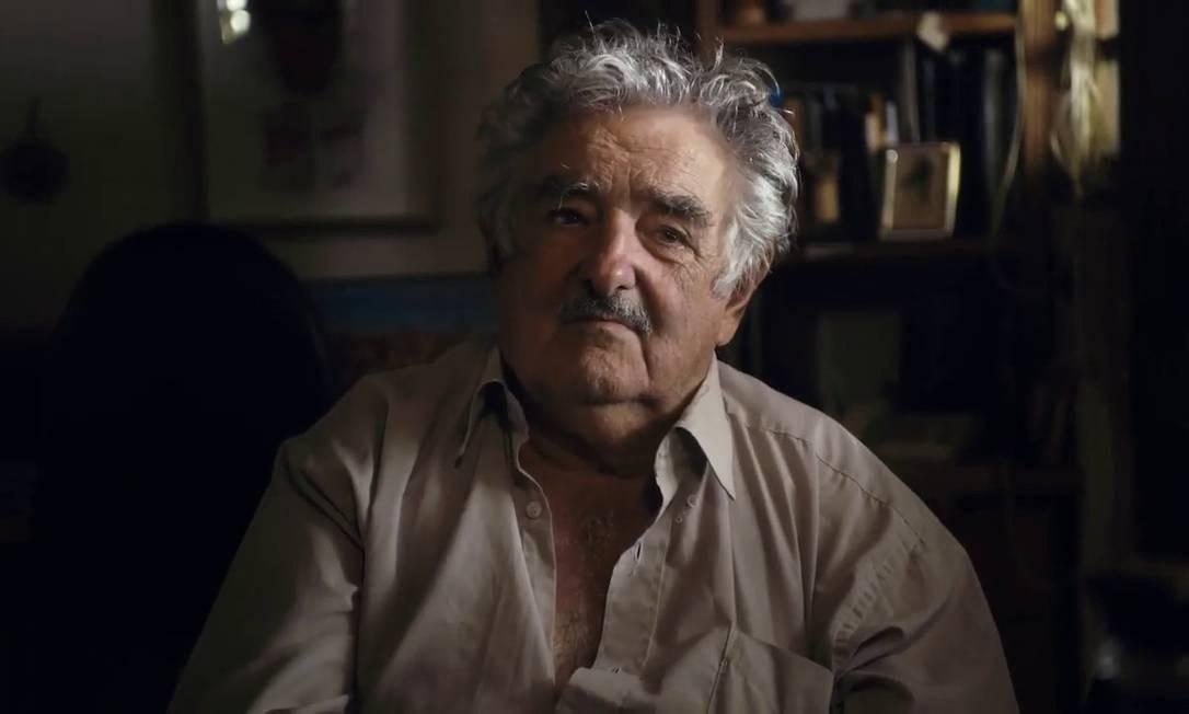 """O ex-presidente do Uruguai José """"Pepe"""" Mujica Foto: Divulgação"""