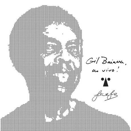 Capa do disco Gil Baiana Ao Vivo em Salvador Foto: leo / Reprodução