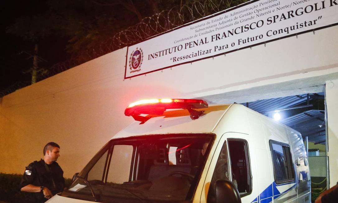 Instituto Penal Francisco Spargoli Rocha Foto: Guito Moreto / O Globo - 24.02.2014