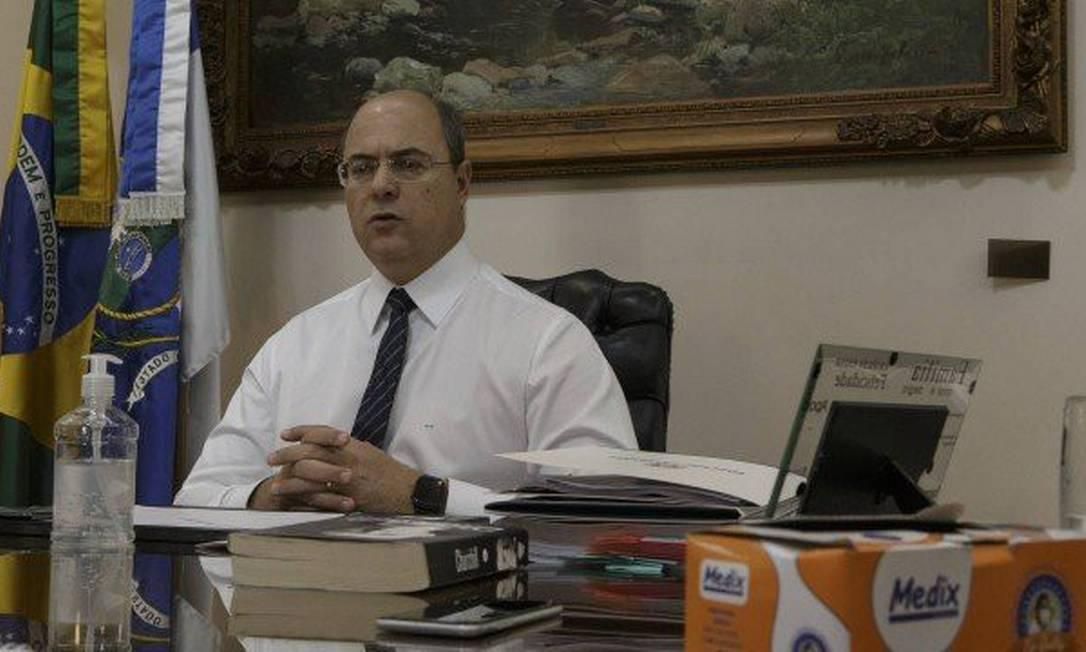 Wilson Witzel, governador do Rio de Janeiro Foto: Alexandre Cassiano / Agência O Globo