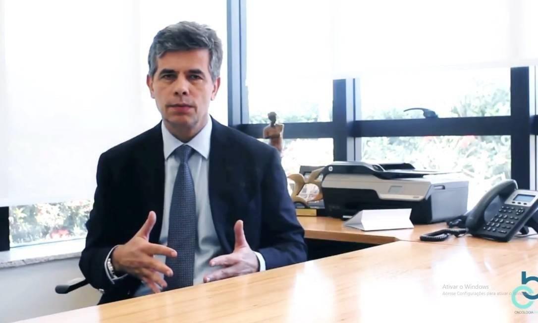 Nelson Teich, ministro da Saúde Foto: Reprodução