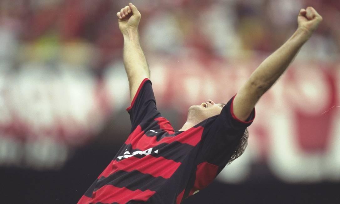 Petkovic pelo Flamengo Foto: Hipólito Pereira / Hipólito Pereira