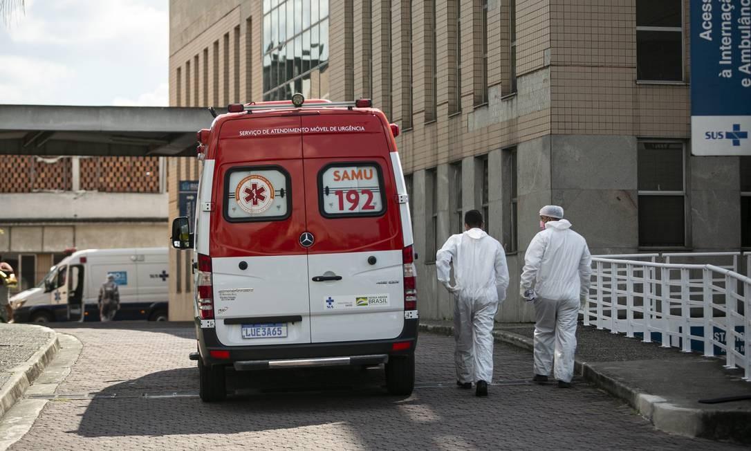 Hospital Municipal Ronaldo Gazolla, em Acari (Arquivo) Foto: Hermes de Paula / Agência O Globo