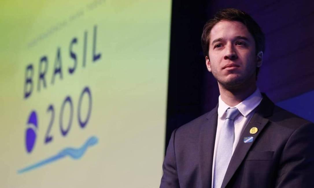 Gabriel Kanner, presidente do Instituto Brasil 200, grupo de empresários que apoiou a Bolsonaro na campanha eleitoral Foto: Reprodução